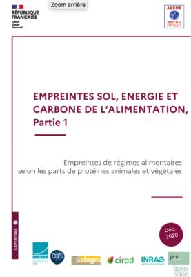 Empreintes sol, énergie, carbone de l'alimentation